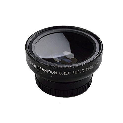 HD 37mm 0.45x Wide Angle Macro Lens Macro Conversion Lens for Digital Camera Camcorder
