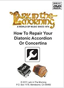 How to Repair Your Diatonic Accordion or Concertina DVD