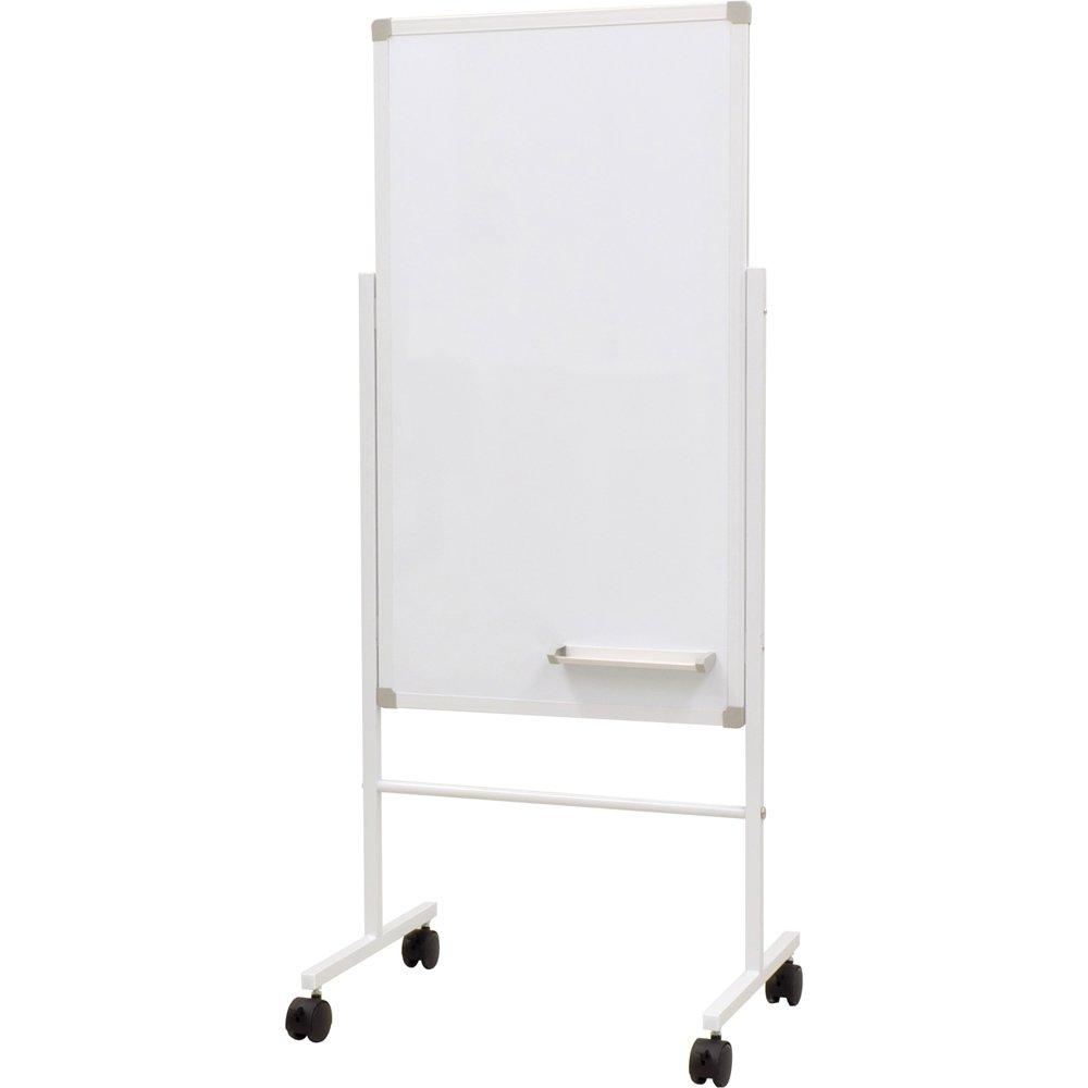 ホワイトボード案内板 W500×H900 両面 ホワイト SHWB-5090BSWH   B077JKJC67