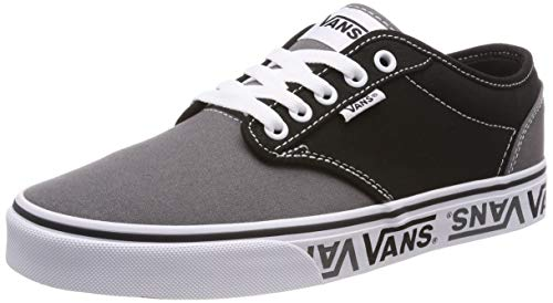 Vans Men's Atwood Sidewall Logo Trainers, Black, 9 US
