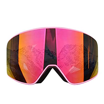 2a31ea91a22 Image Unavailable. Image not available for. Color  FelixStore Ski Goggles  Skate Skiing Glasses Snowboard Snowmobile Winter Snow Mask Outdoor Sports  ...