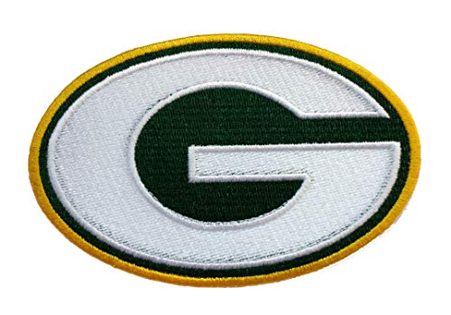 InspireMe Family Owned Packers Football Fully Embroidered Iron-on Patch 2.5