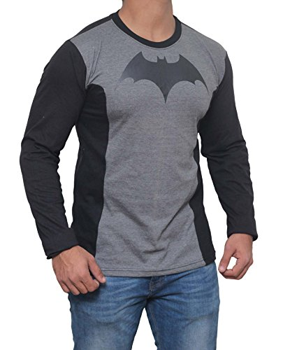 Miracle(Tm) Batman Arkham Costume T-Shirt - Mens Arkham Batman Costume Shirt