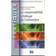 responsabilite juridique de l'infirmiere 6e ed.