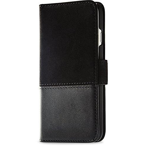 適度な子羊被るHoldit 北欧 ブランド 牛革 Galaxy S9 ケース 手帳型 本革 レザー ハンドメイド カバー 手帳 カード収納 黒 ブラック【日本初上陸モデル】