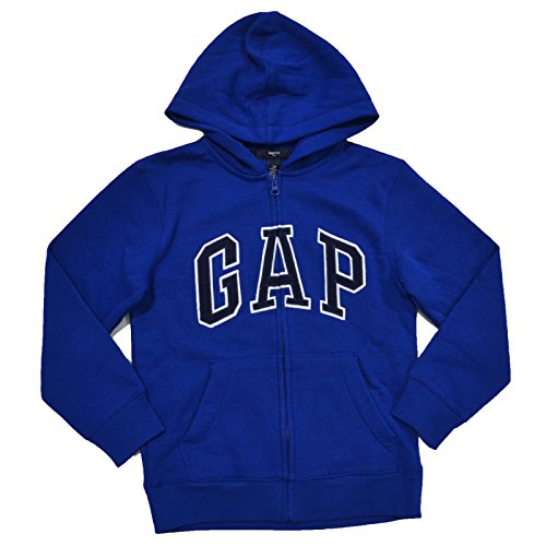 gap-boys-fleece-arch-logo-zip-up-hoodie-large-royal-blue