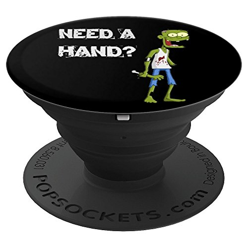 Funny Halloween Zombie Joke For Kids Cartoon Humor - PopSockets Grip and Stand for Phones and Tablets