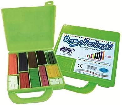 Reglas de colores en estuche de cartón 200 piezas-máxima calidad.: Amazon.es: Oficina y papelería