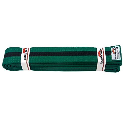 Tiger Cotton Belt (Uniform Belt - Green With Black Stripe)