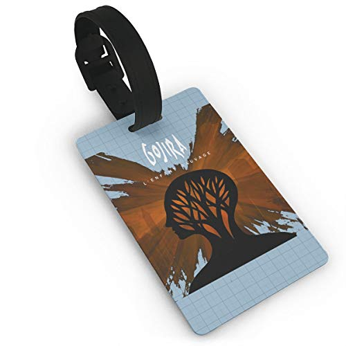 AlstonE Gojira L Enfant Sauvage Luggage Tags Suitcase Tags Bag Tag Travel ID Labels Tag