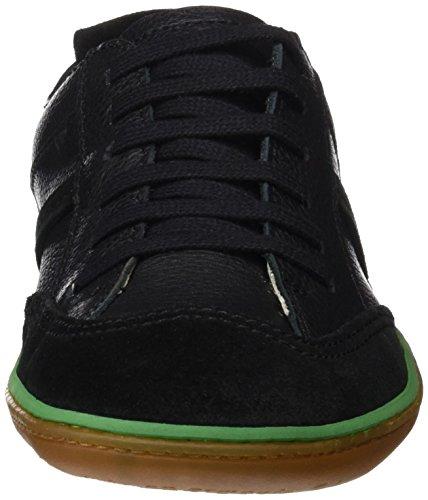 El Naturalista N5273 Soft Grain Lux Suede El Viajero, Zapatos de Cordones Derby Unisex Adulto Negro (Black)