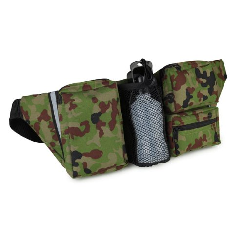 Cruising Companion 600D Polyester Pet Fanny Pack, Green, Outdoor Stuffs
