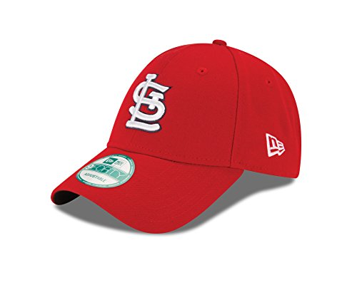 Cardinals Cap (MLB St. Louis Cardinals Youth The League 9Forty Adjustable Cap, One Size, Red)