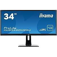 Iiyama 34 UWQHD AH-IPS LED 3440 x 1440, USB-Hub 3.0, XUB3490WQSU-B1 (3440 x 1440, USB-Hub 3.0 320 cd/mý,5 ms, 5000000:1, 21:9, B, VESA 100x100, HDCP)