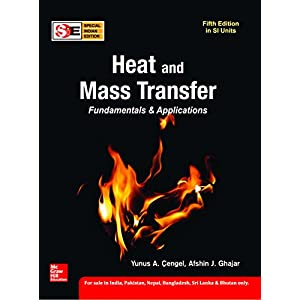 Heat and Mass Transfer: Fundamentals and Applications (SIE)