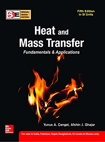 Heat And Mass Transfer, 5Ed