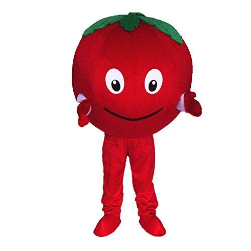 Red Panda Mascot Costumes - Red Tomato Mascot Costume Cartoon Halloween