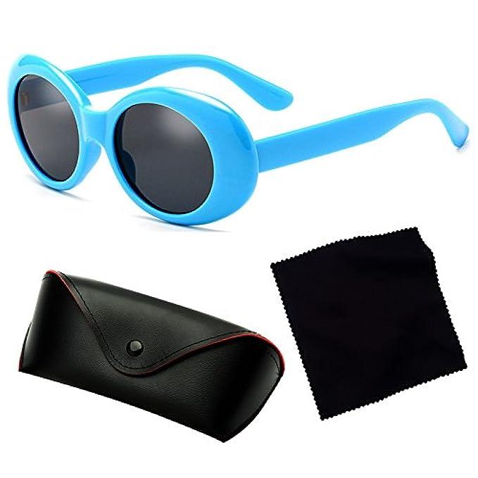 Style Sunglasses Uv400 Uomo Retro Eyewear Hibote Oval Donna