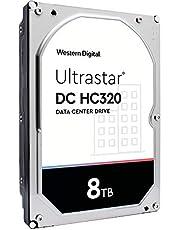 HGST WD Ultrastar DC HC320 8TB 7200 RPM SATA 6Gb/s 3.5-Inch Enterprise Hard Drive (HUS728T8TALE6L4)