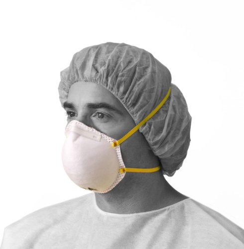 medline NON24506A N95 Particulate Respirator Masks, Cone-...