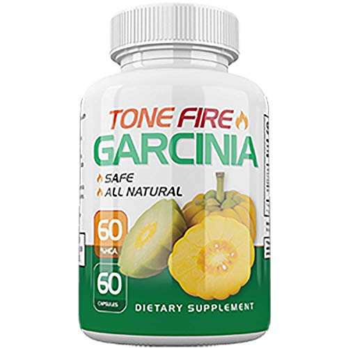 Tone Fire Garcinia Pills – Advanced Weight Loss – Thermogenic Fat Burning Formula