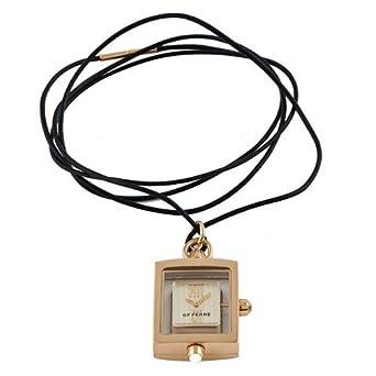 Armbanduhr Gianfranco Ferre 'Damen Armbanduhr-Eisen Fall-Mineral Glas-gold Zifferblatt-27x 22mm gf9007p-