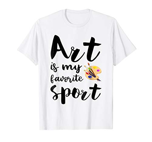 (Art Is My Favorite Sport - Art Lovers)