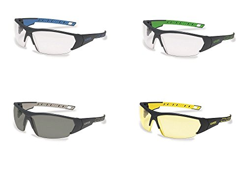 uvex i-works 9194 Unisex Brille EN 166 mit UV-Schutz + Hardcase - Sonnenbrille Schutzbrille Sportbrille Arbeitsbrille Radbrille (grau/verspiegelt) 4Rv3rrYJ