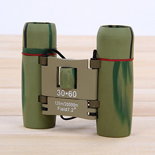 PLLP Binoculars with Day and Night 30X60 Times Telescope High - Definition Infrared Light Night Vision Binoculars,Camouflage,370x250x180mm by PLLP