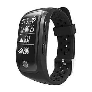JIANGJIE Reloj Inteligente, Reloj Deportivo GPS con ...
