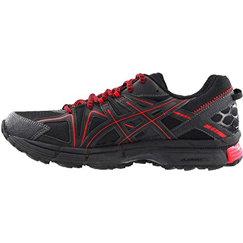 ASICS Mens Gel-Kahana 8 Running Shoe Black/Classic Red/Phantom 6 Medium US by ASICS (Image #3)