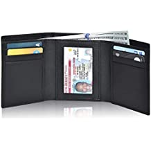 Clifton Heritage Men's Leather RFID Blocking 7-Slot Trifold Wallet