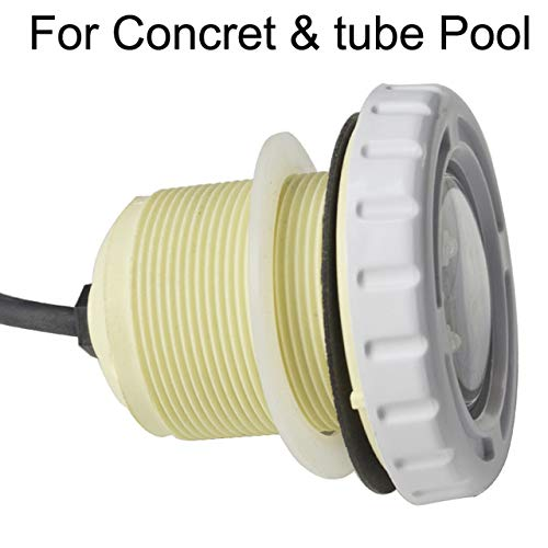 Rarido Led Lights Underwater Lights Pond Spa Swimming Pool Led RGB 9W Ip68 Waterproof for Liner Concrete Pool Rrd S Fountain Lamp 12V - (Emitting Color: for Concret Pool, Wattage: ()