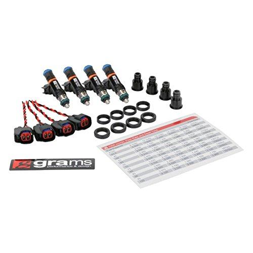 Grams Performance G2-1000-0500 Fuel Injectors (Honda/Acura B/D/F/H Series (Excl D17)1000Cc (Set Of 4)