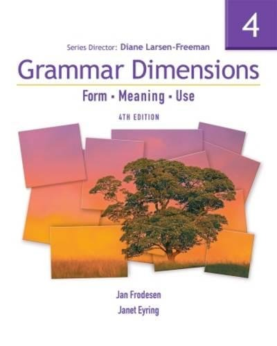 Top 9 grammar dimensions 4 form, meaning, use