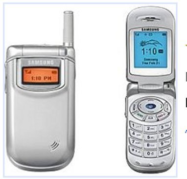 Samsung SCH A310 Cell Phone (A310 Faceplates)