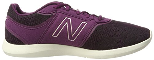 415, Baskets Femme, Gris (Grey/White Seasonal), 41 EUNew Balance