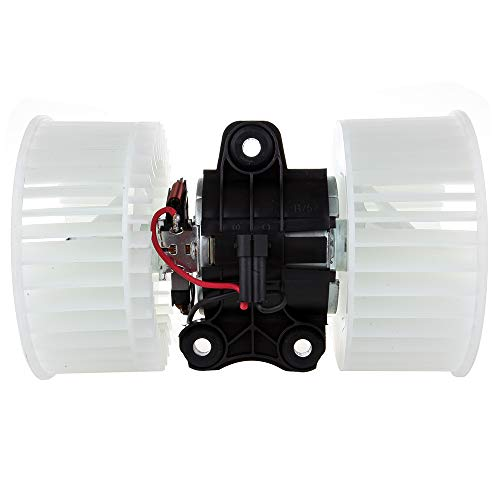 TUPARTS AC Conditioning Heater Blower Motor with Fan HVAC Motors Fit for 2001-2003 BMW 525i, 2000 BMW 528i, 2001-2003 BMW 530i, 2000-2003 BMW 540i, 2001-2006 BMW X5