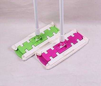 Limpieza de la escoba de piso estático Limpieza de la escoba con toallitas húmedas o secas