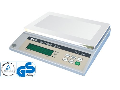 GundG Industriewaage TC TC10K Balance de pré cision numé rique 1 g/10 kg
