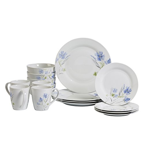 Wildflower 16 Piece Dinnerware Set