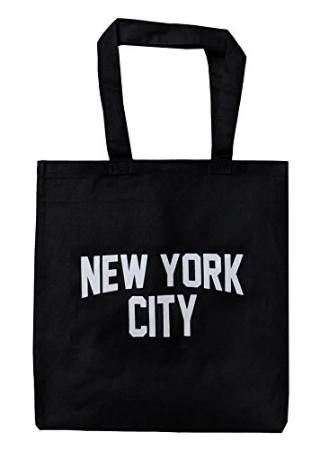 NYC Tote Bag New York City 100% Cotton Canvas Screenprinted Event ()