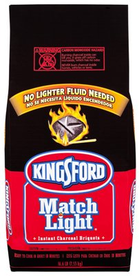 Kingsford Products 31267 Match Light Charcoal Briquettes, 11.16-Lb., 2-Pk. - Quantity 36