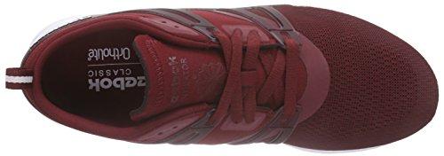 Reebok Black de Homme Chaussures Course Ventilator Burgundy Collegiate White Rouge Adapt Rot AP4qAr