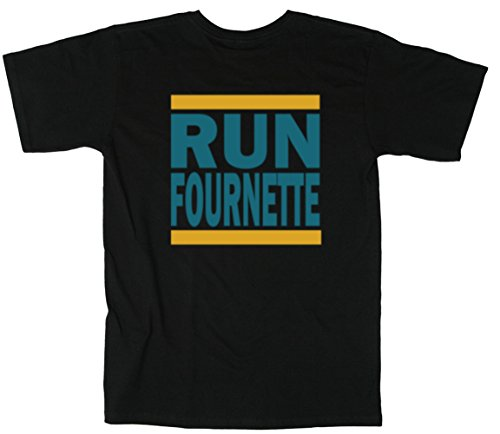 The Silo Navy Jacksonville Fournette  Run  T Shirt Adult