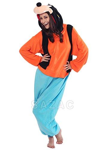 62cfb5e3f5d5 Japan Official Sazac Disney Goofy Onesie Kigurumi Pajamas Goofy Costume  Cosplay  Amazon.co.uk  Toys   Games