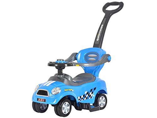 BRC Toys Mini 3 in 1 Push Car, Blue