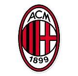 """AC Milan - Italy Football Soccer Futbol - Car Sticker - 6"""""""