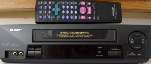 sharp vcr player - 4
