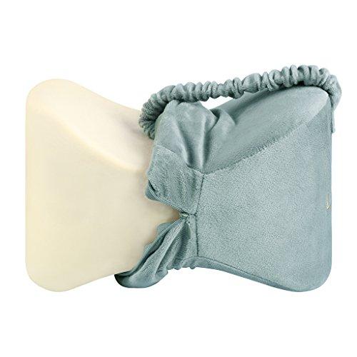 Langria Knee Pillows Memory Foam Leg Pillow With Elastic